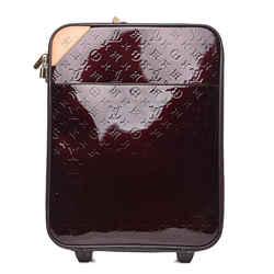 Louis Vuitton Monogram Vernis Amarante Pegase 45 Rolling Carryon Trolley 1LVGR906