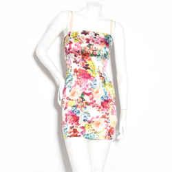 D&g Floral Mini Dress