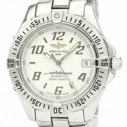 Polished BREITLING Colt Automatic Steel Automatic Mens Watch A17350 BF534107