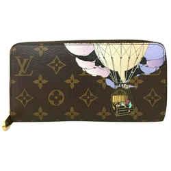 Louis Vuitton Monogram Illustre Balloon Zippy Wallet Zip Around Long 861191