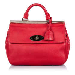 Red Mulberry Small Leather Suffolk Satchel Bag