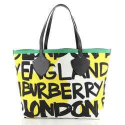 Reversible Graffiti Giant Tote Printed Canvas XL