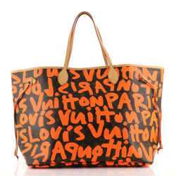 Neverfull Tote Limited Edition Monogram Graffiti GM