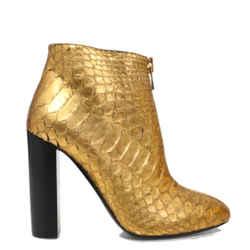Tom Ford Python Heel Boots