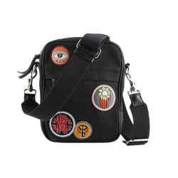 Roberto Cavalli Camera Bag With Lucky Symbols