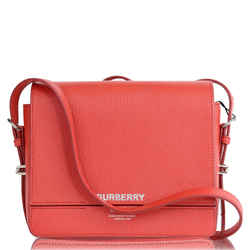 Urberry Small Grace Leather Shoulder Bag Red