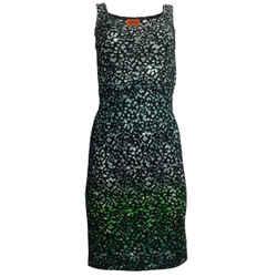 Missoni Multicolor Lace Cocktail Dress