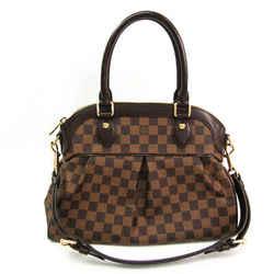 Louis Vuitton Damier Trevi PM N51997 Women's Shoulder Bag Ebene BF516815