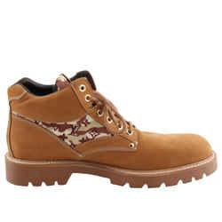 Louis Vuitton Oberkampf Ankle Boots Brown Sz US-12 Authenticity Guaranteed