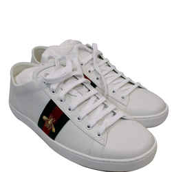 Gucci Ace Classic Low Top Sneakers White 475208 Us 11
