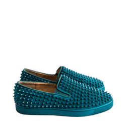 Christian Louboutin Roller Boat Flat Spikes Sneakers