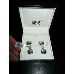 Montblanc Young Meisterstuck Steel Cuff Links 105870  - New In Box - $405.00