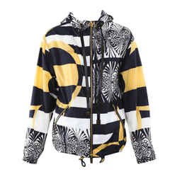 Louis Vuitton Monogram Blason Motif Parka Hooded Zipped Jacket Sz 36