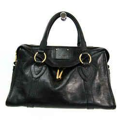 Marc Jacobs Small Fulton Women's Leather Handbag Black BF521441