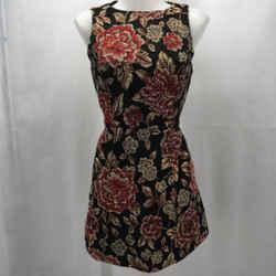 Alice + Olivia Black Sleeveless Dress 6