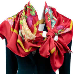 Regina Hermes Scarf by Leila Menchari Red CW RARE Early Issue