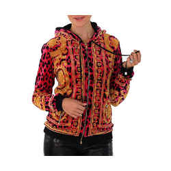 Sold Out Everywhere! New Versace Barocco Animalier Velvet Jacket 40