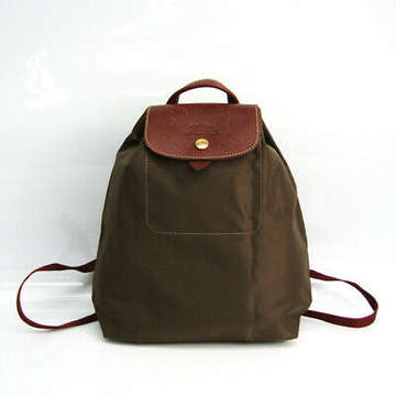 Longchamp Le Pliage SAC A DOS XS Women's Nylon,Leather Backpack...