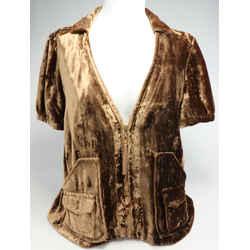 Louis Vuitton Soft Zipped Velvet Blazer Jacket