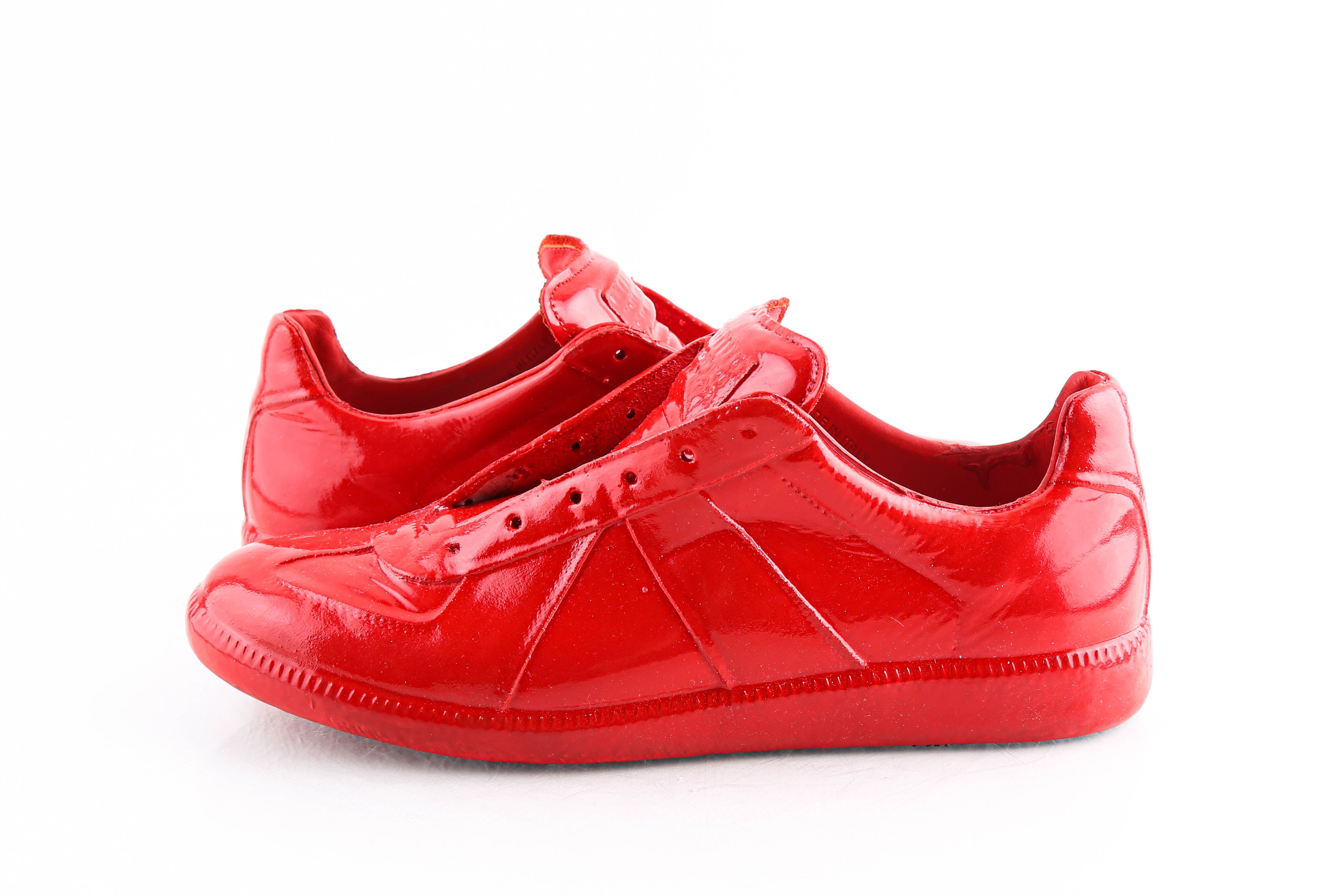 Maison Martin Margiela Red 22 Low Top