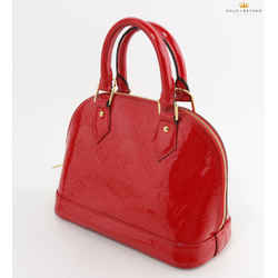 Louis Vuitton B'n'B Alma Monogram BB Red Vernis Tote