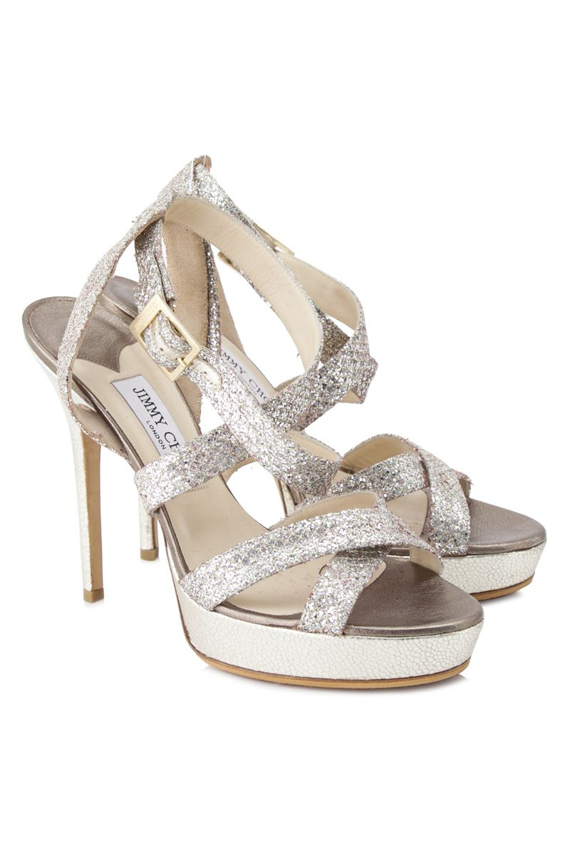 Pre-Owned Jimmy Choo Strappy Platform