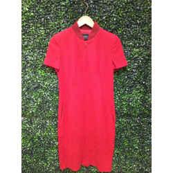 Akris Punto Size 8 Red Dress