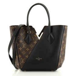 Kimono Handbag Monogram Canvas and Leather PM