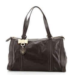 Duchessa Boston Bag Leather Medium