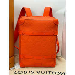 RARE LOUIS VUITTON Taurillon Empreinte PM Soft Trunk Backpack Carry On DC348