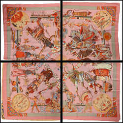Rare Authentic Hermes Danses Des Indiens Cashmere/silk Shawl - Kermit Oliver
