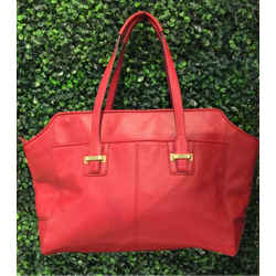 Coach Size Large Red Tote