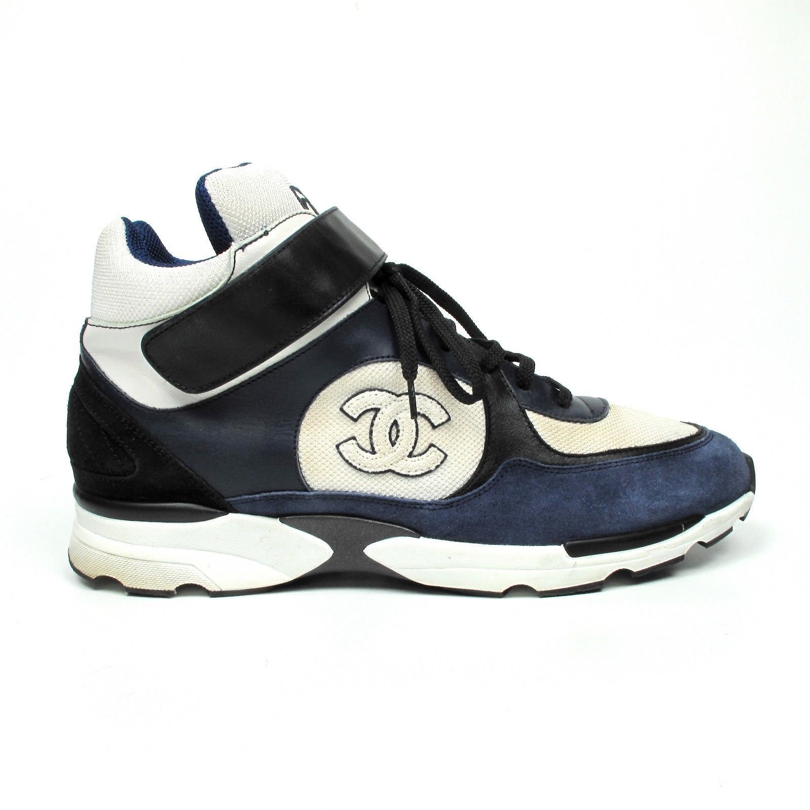 CHANEL MENS SNEAKERS US 12 - 45