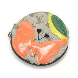Louis Vuitton Conte De Fees Porte Monnaie Round Green Mini Monogram Canvas Coin Case - 2002 Limited LN786