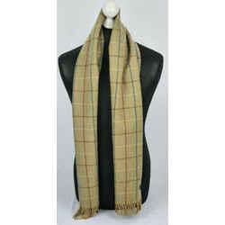 BURBERRY Khaki Brown Nova Plaid Check Classic Scarf 871891