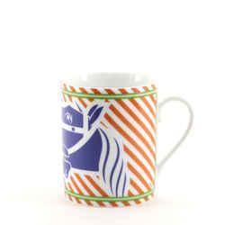 Quadrige Pop Mug Printed Porcelain