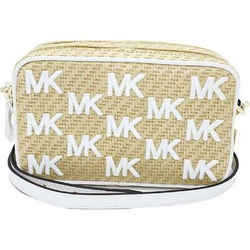 Michael Kors Straw Python Capsule Kenly Small Camera Crossbody