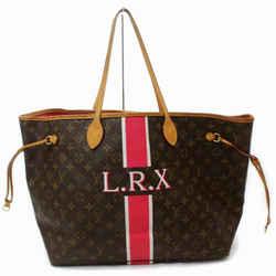 Louis Vuitton Monogram Neverfull Gm Mon Stripe Red Tote Large 860623