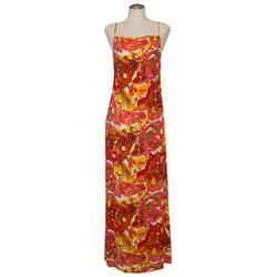 Jean Paul Gautier Psychedelic Slip Maxi Dress