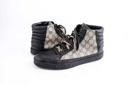 Gucci GG Supreme high-top sneaker | LePrix