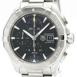 Polished TAG HEUER Aquaracer Calibre 16 Chronograph Mens Watch CAY2110 BF504411