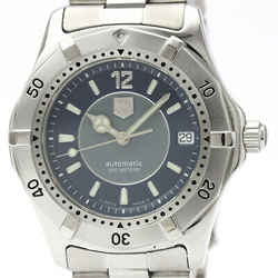 Polished TAG HEUER 2000 Limited Edition Automatic Mens Watch WK2114 BF509867