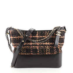 Gabrielle Hobo Quilted Tweed and Calfskin Medium