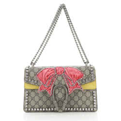 Dionysus Bag Crystal Embellished GG Coated Canvas Small