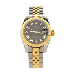 Oyster Perpetual Datejust Automatic Watch Stainless Steel and Yellow Gold 26