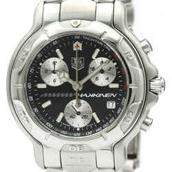 Polished Tag Heuer 6000 Chronograph Mika Hakkinen Limited Watch Ch1114 Bf512864