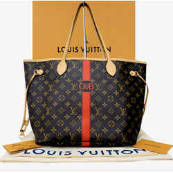 Louis Vuitton Monogram Neverfull Limited MM Tote Bag
