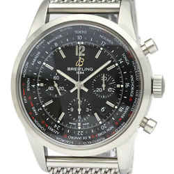 BREITLING Transocean Chronograph Unitime Automatic Mens Watch AB0510 BF534035