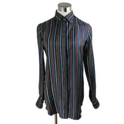 Loro Piana Navy Red Striped Shirt size 4
