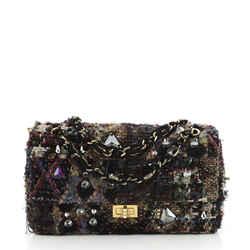Paris-Byzance Reissue 2.55 Flap Bag Lesage Embellished Tweed 225